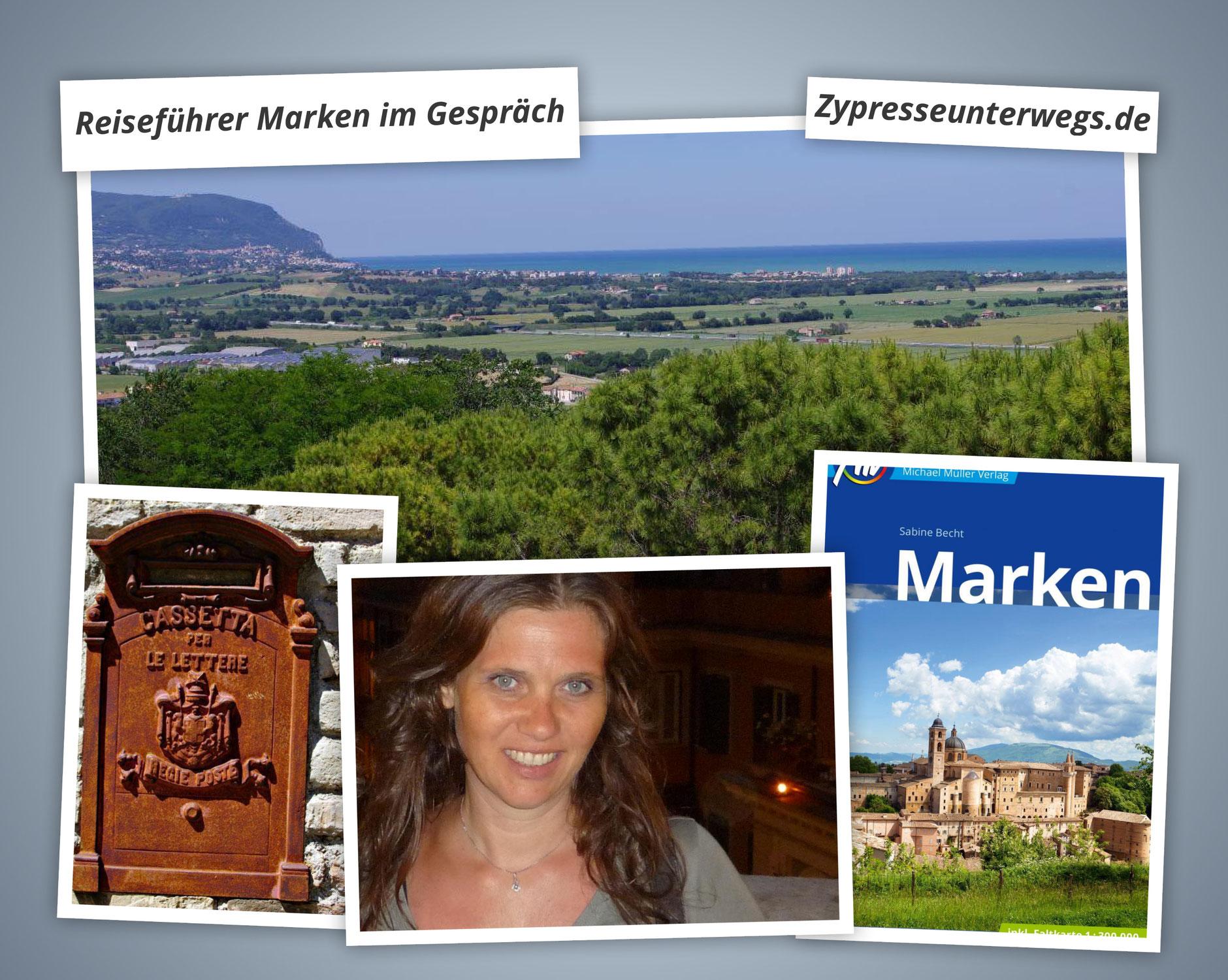 Reiseführer Marken und ein Gespräch mit Sabine Becht