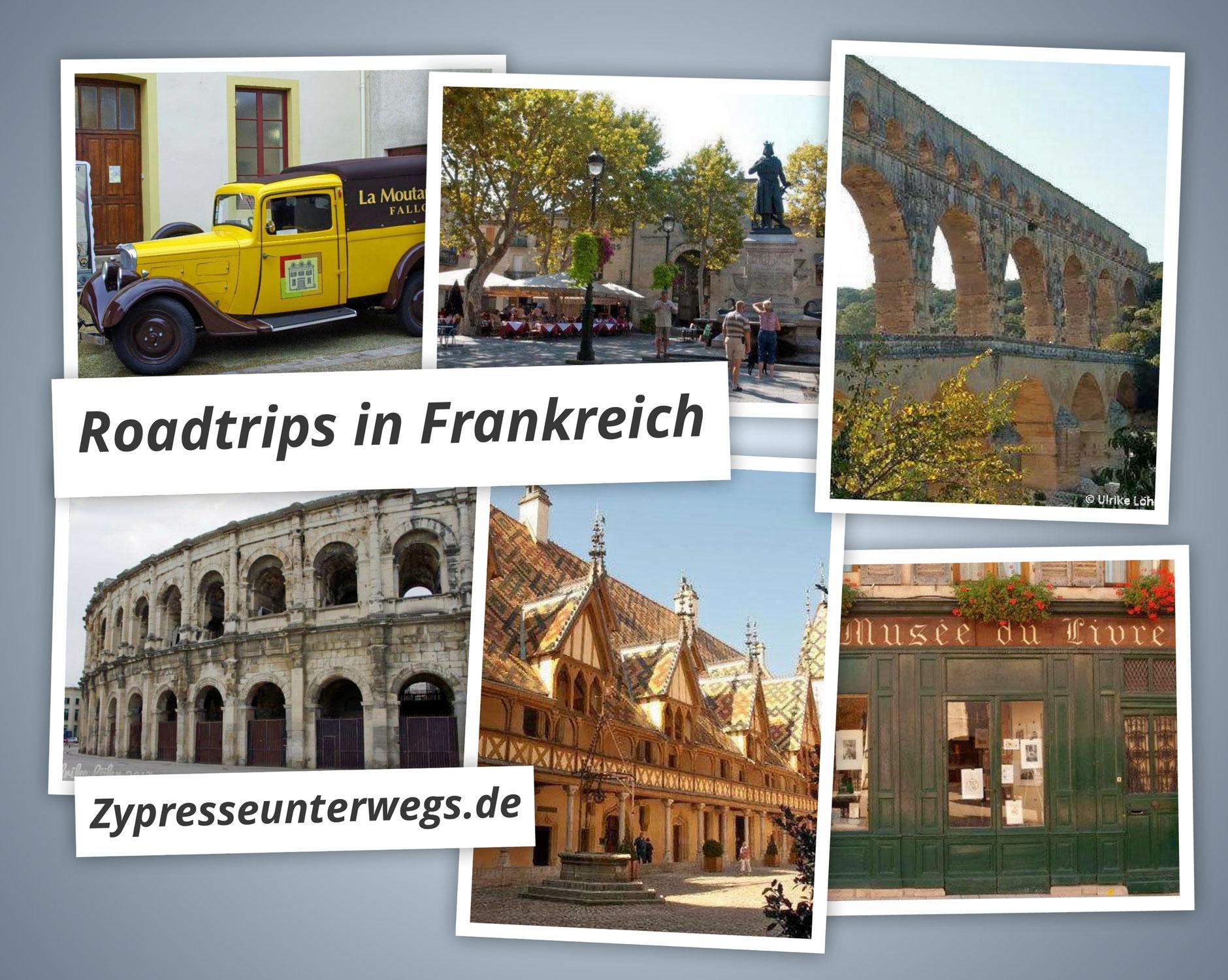{ROUND UP} 9 Roadtrips in Frankreich