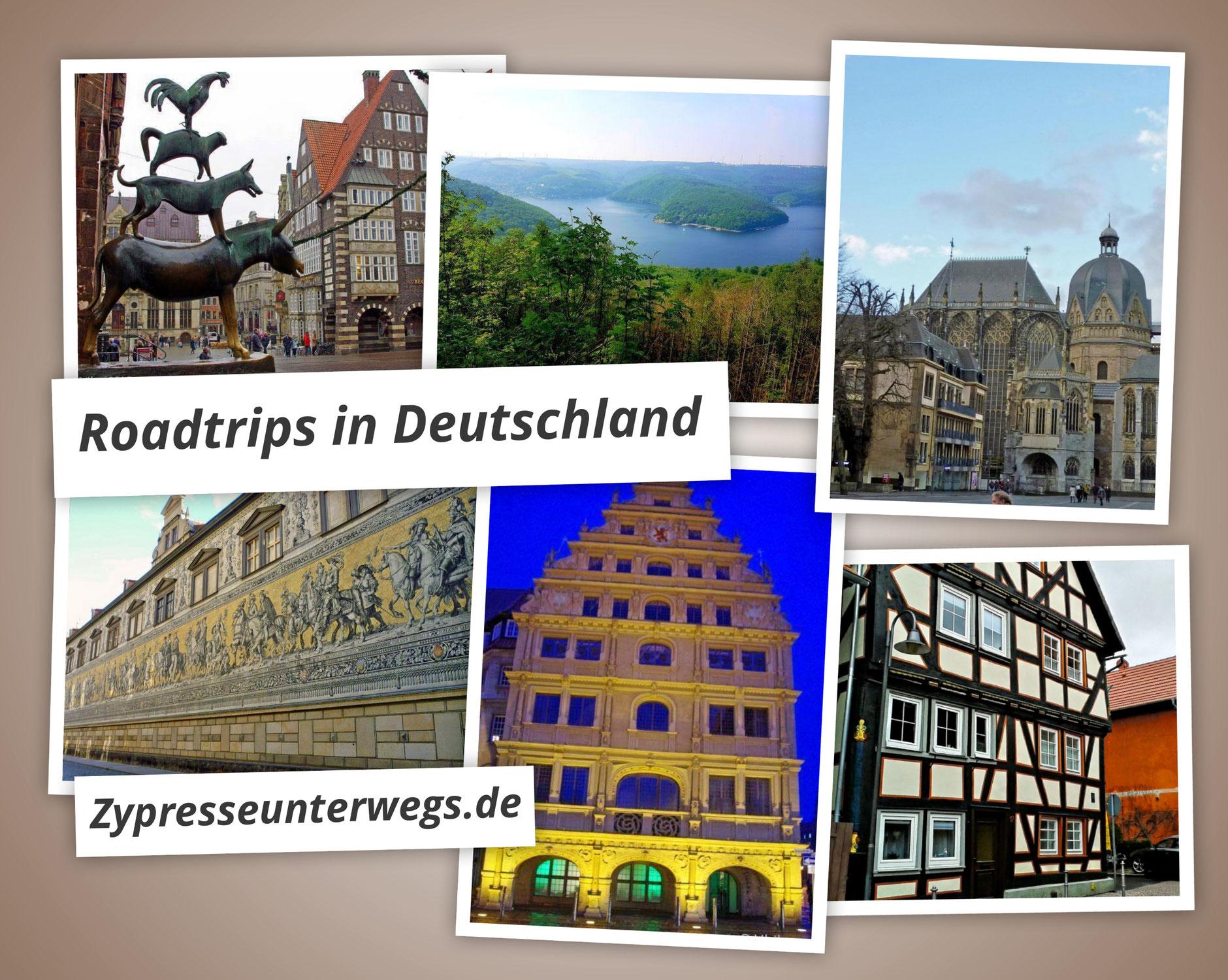 {ROUND UP} 8 Roadtrips in Deutschland