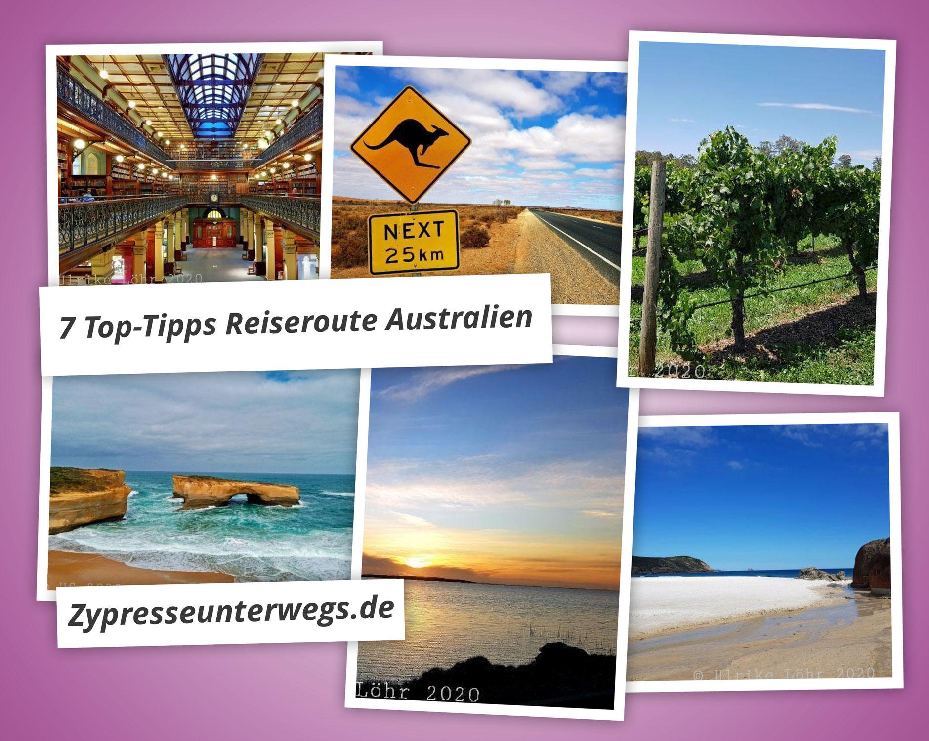 Meine  7 Top-Tipps zu einer Reiseroute durch Australiens Südosten