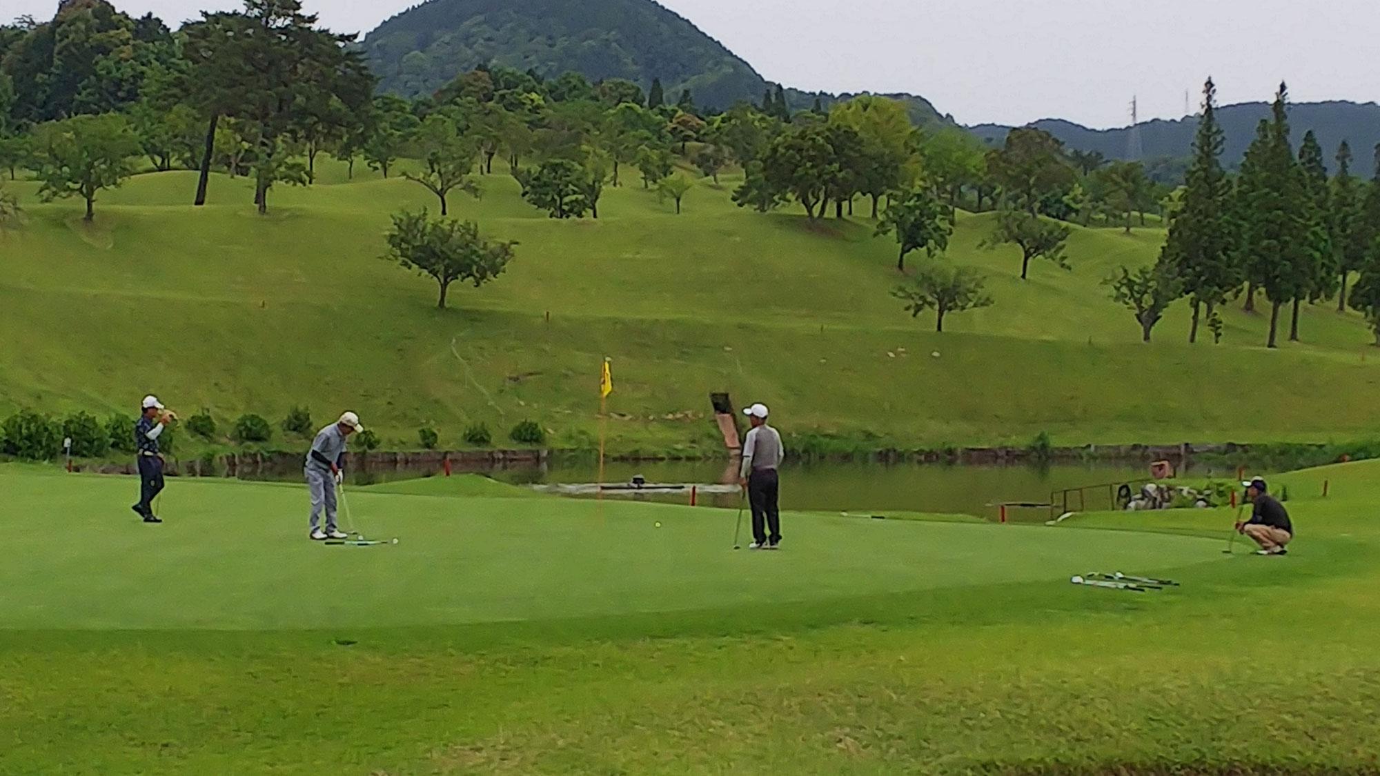 ゴルフガーデン三田川杯