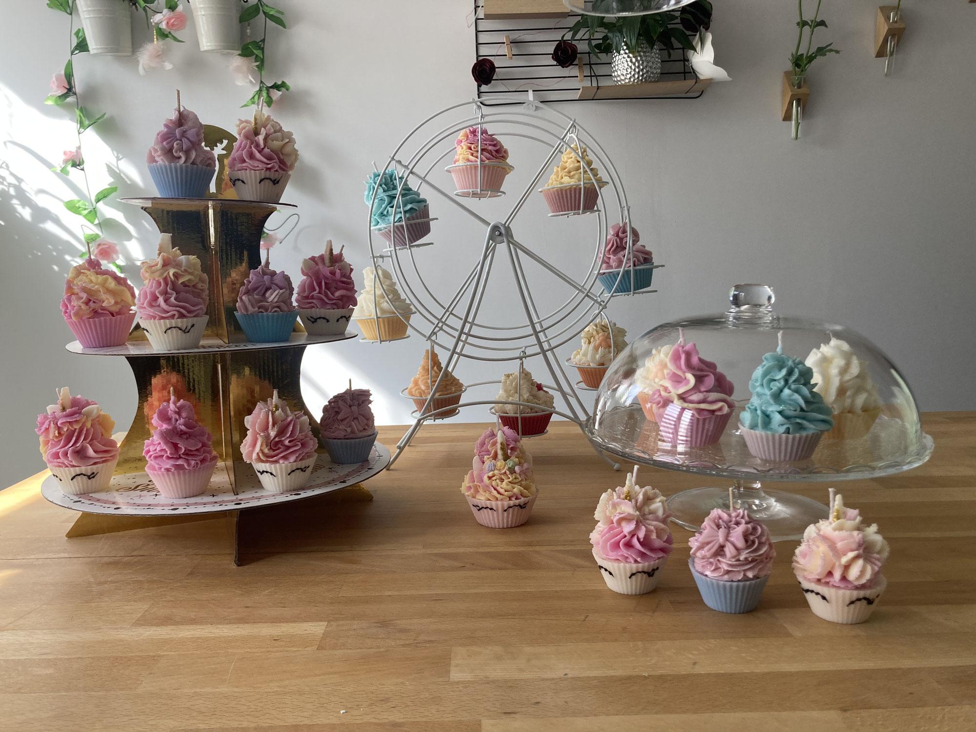 Conseils pour les bougies Cupcakes et Macarons
