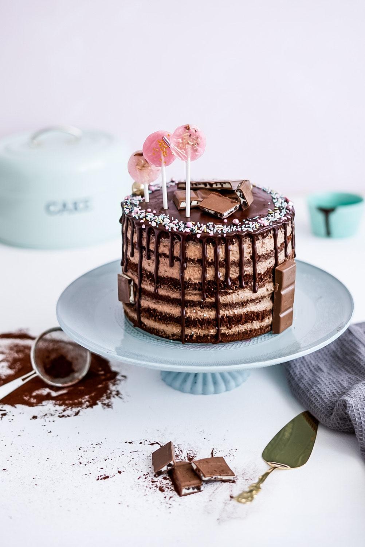 Schokoladen-Mousse-Torte