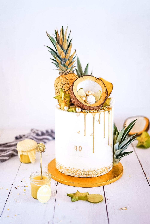 Tropical Mango - Kokos - Torte
