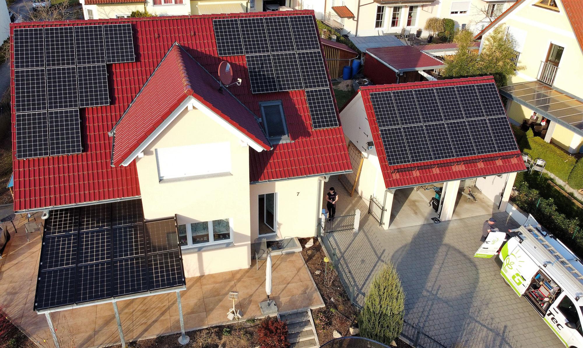 Solarterrasse - individuell und alles aus einer Hand