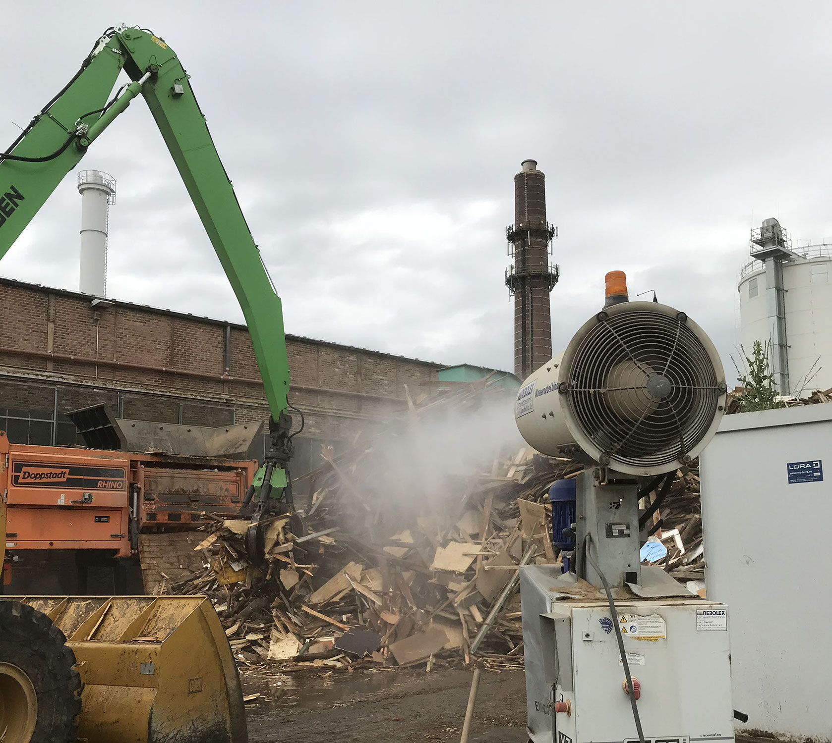 Holzrecycling