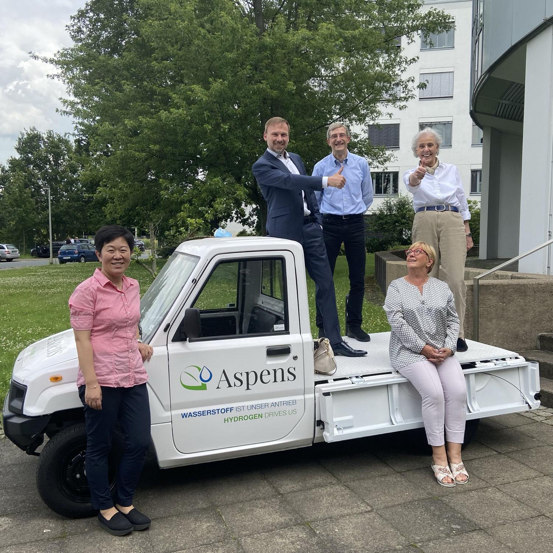 Besuch der Firma Aspens GmbH