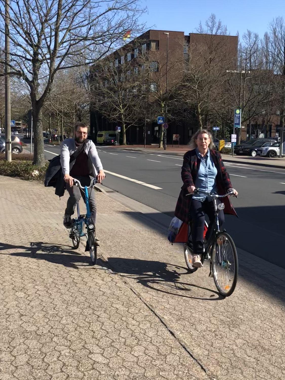 Arbeitskreis Verkehr erkundigt sich nach Planugsstand des Radschnellweges Langenhagen