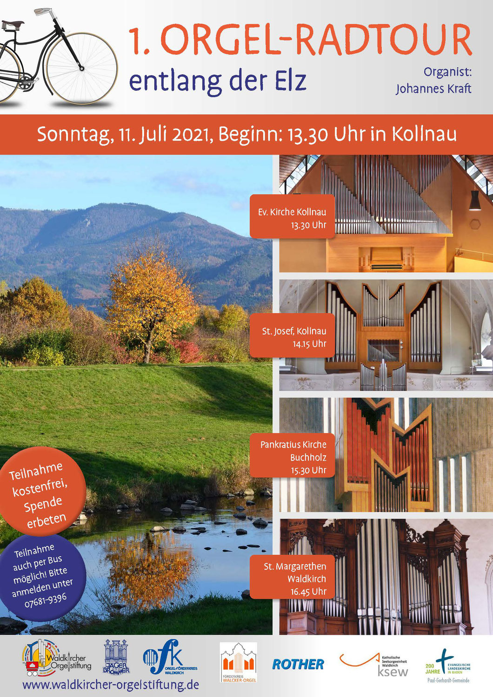 1. Orgel-Radtour entlang der Elz | Sonntag, 11. Juli 2021