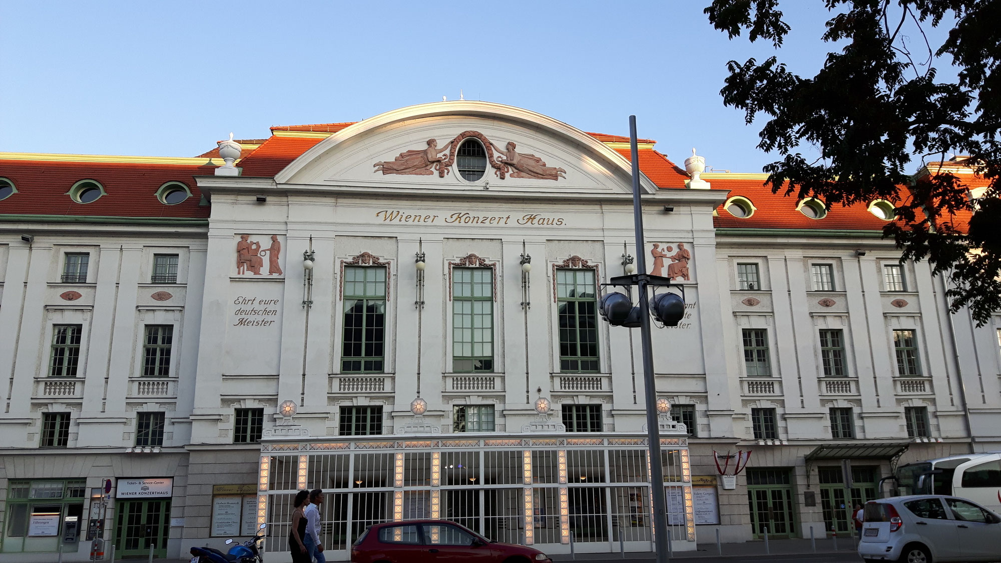 Das Konzerthaus - la Casa da Concerto Vienna