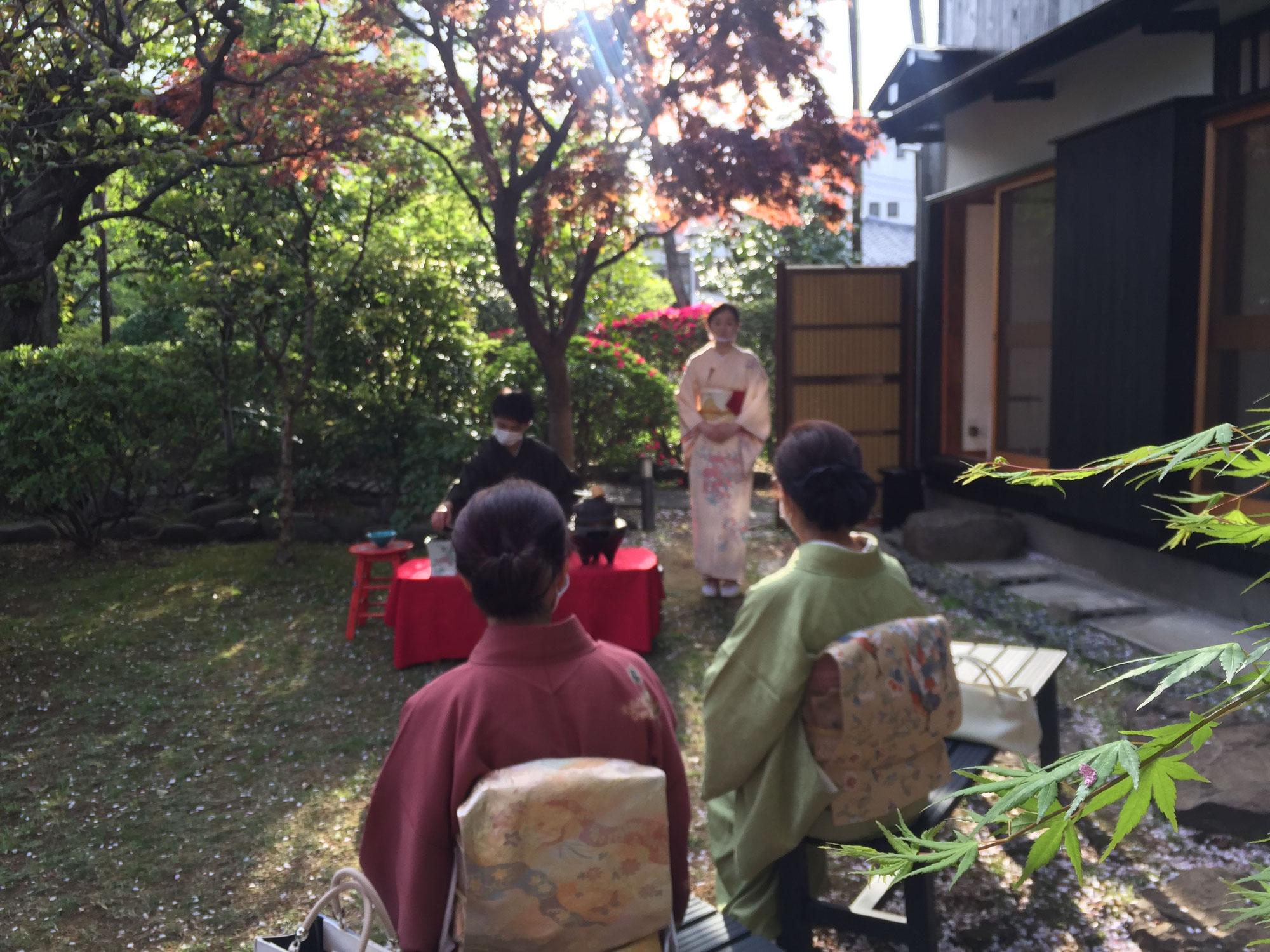 桜の茶会 4日