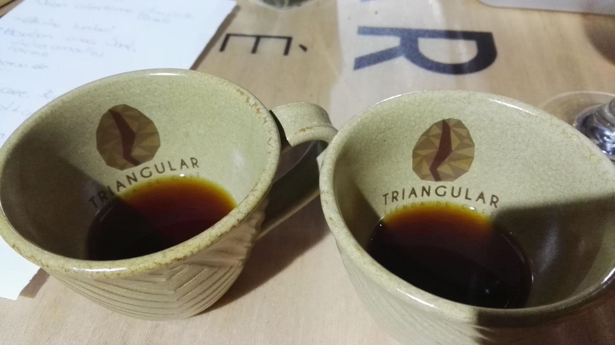 La temperatura del agua y la bebida del café