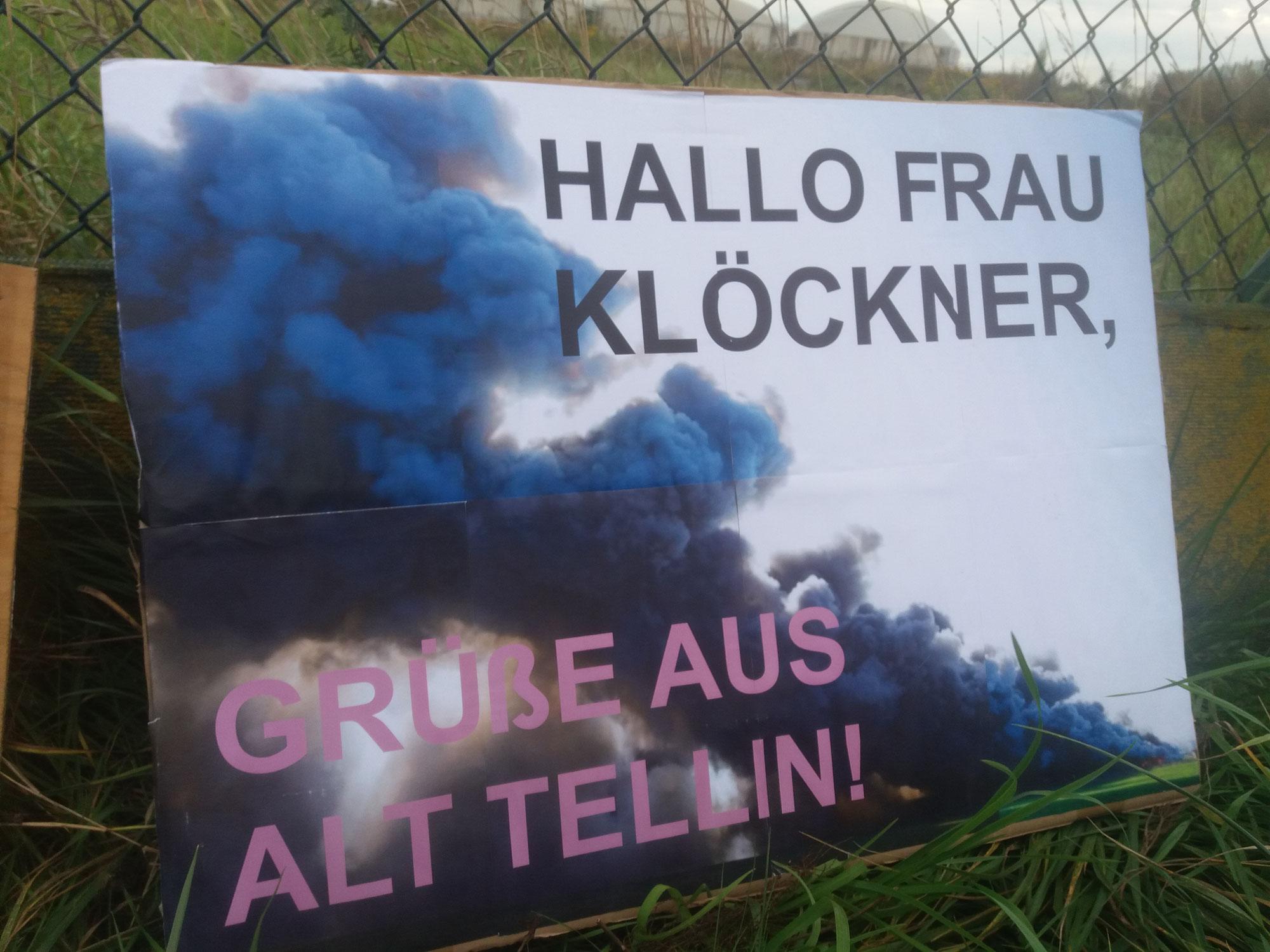 Alt Tellin - Mahnwache 20.9.21