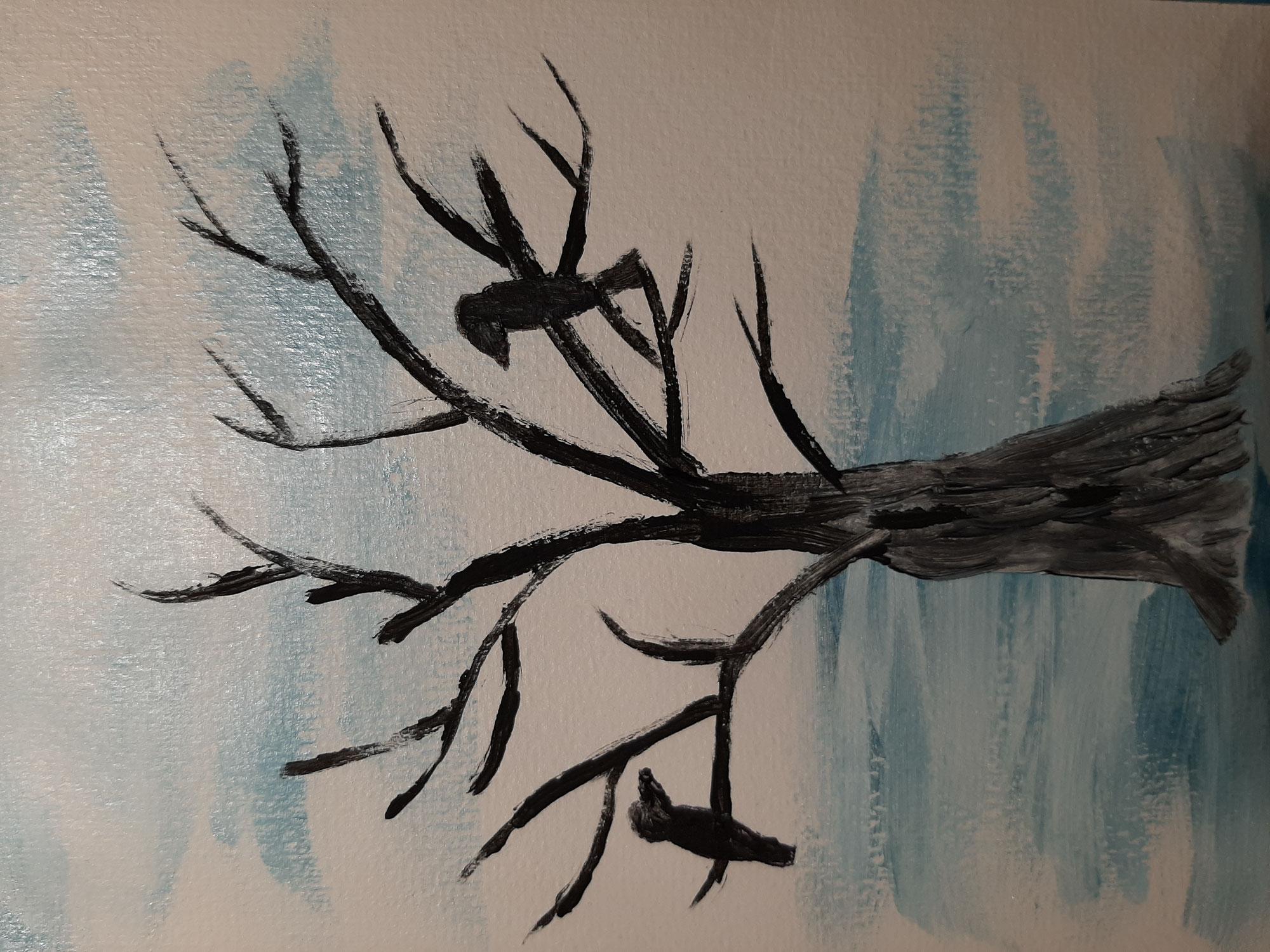 Ich male mir den Winter