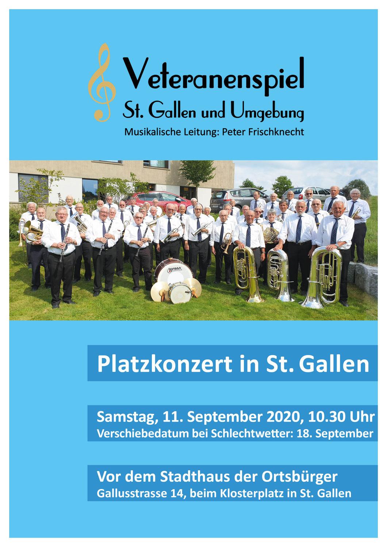 Platzkonzert in St. Gallen