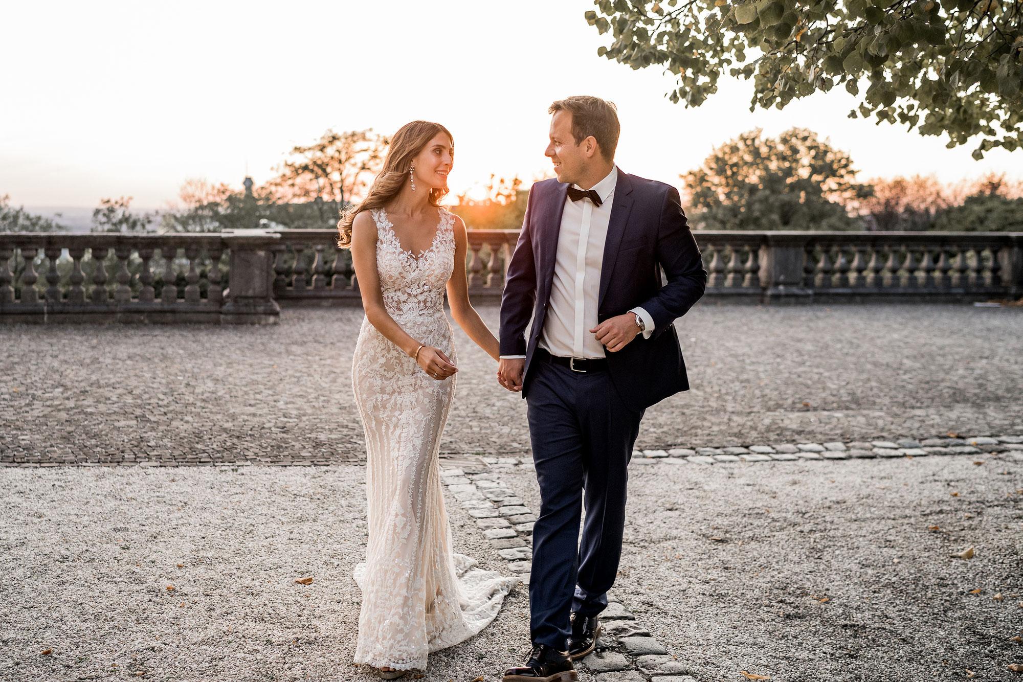 Sophia & Martin - After Wedding Shooting im Schloss Bensberg