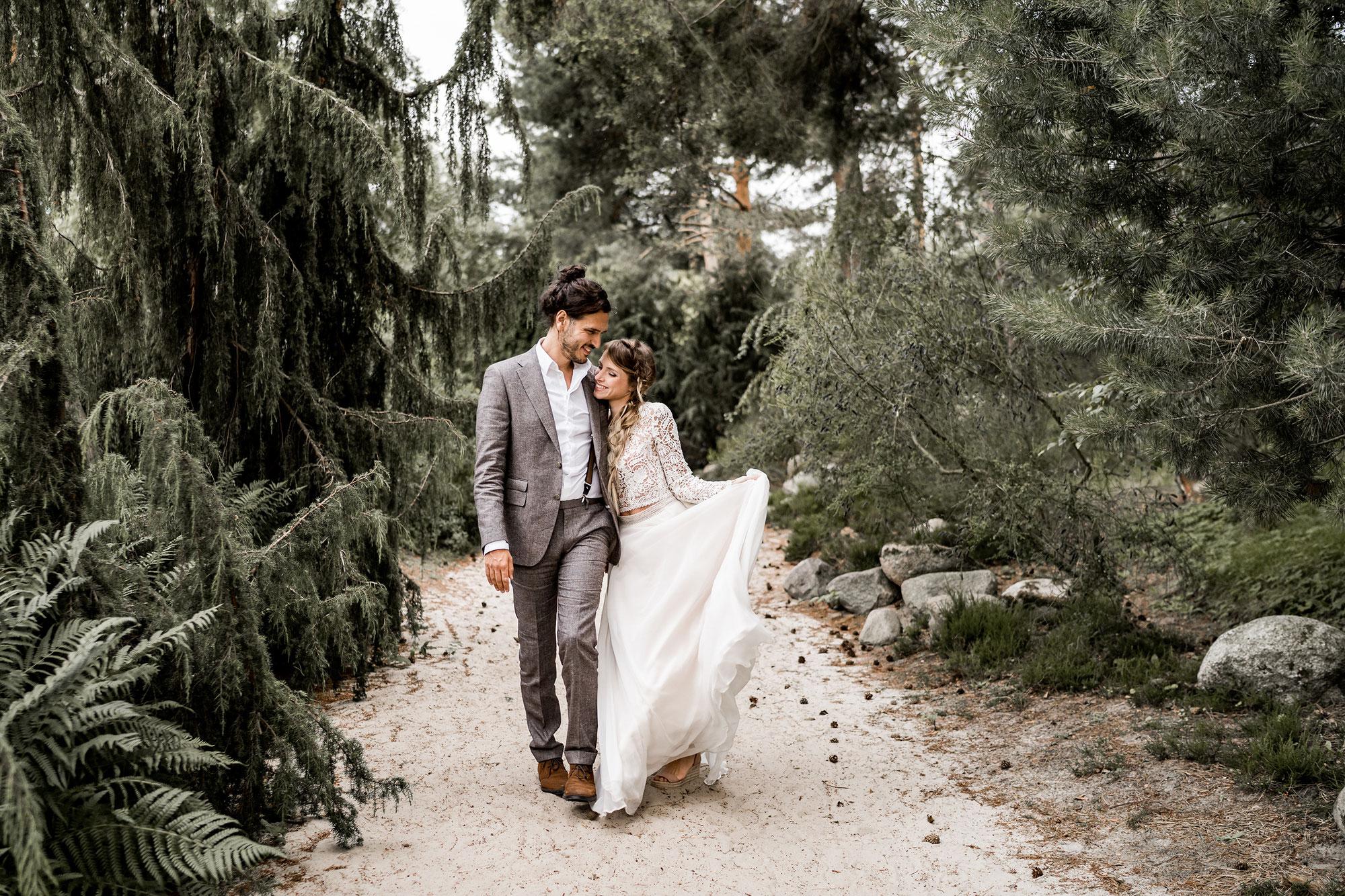 Jessi & Rek - After Wedding Inspiration im Rombergpark Dortmund
