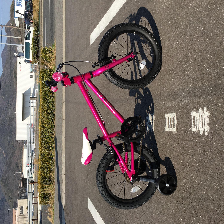 ヨツバサイクルに新色クリスタルピンク登場!
