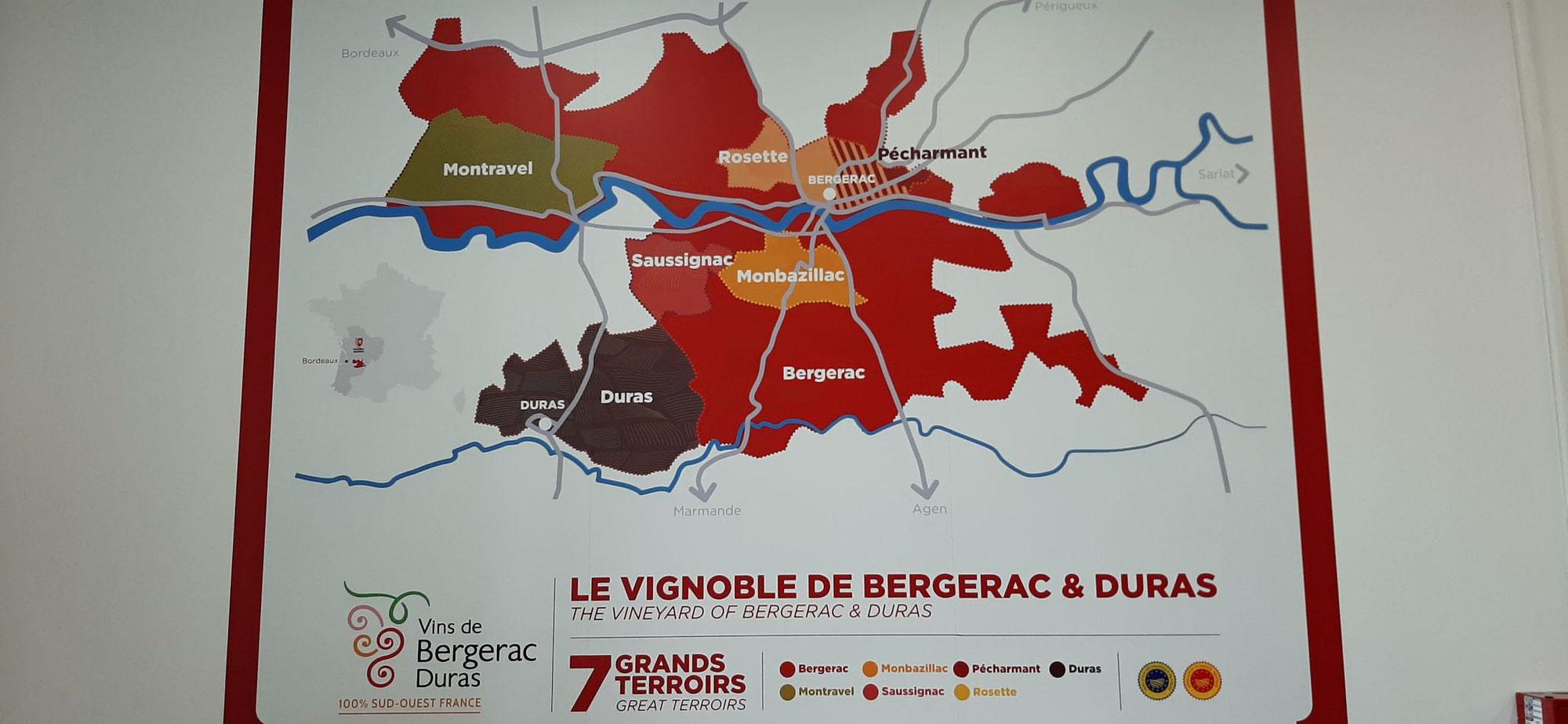 A la découverte des vins de Bergerac