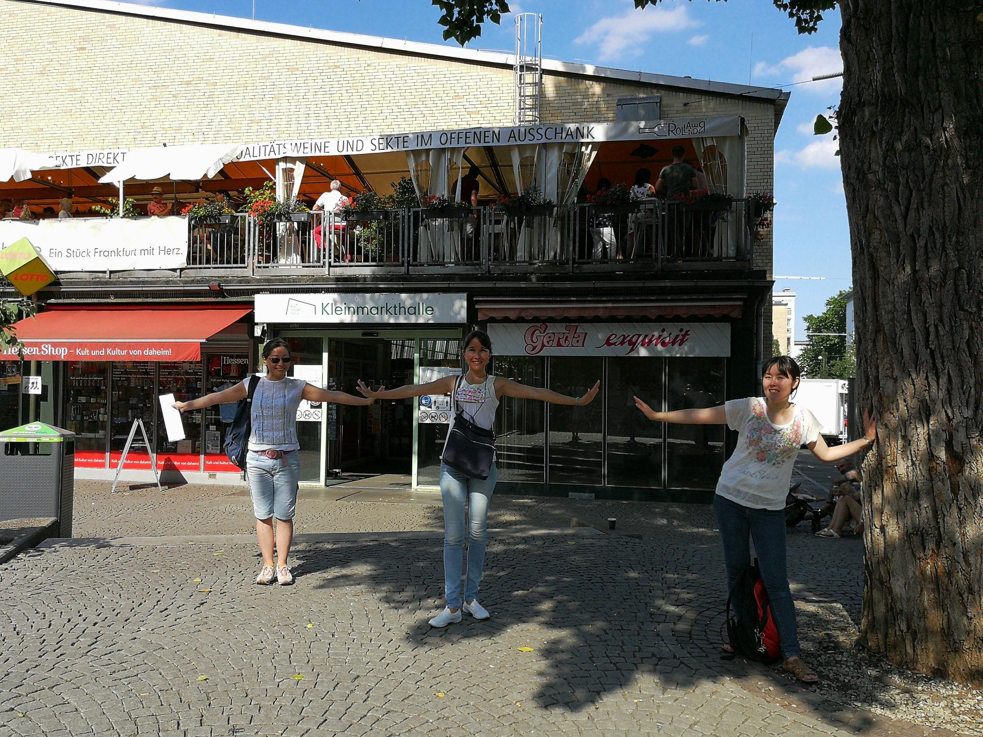 Stadtbesichtigung mit unserem B2 Deutsch Intensivkurs / City tour with our B2 German intensive course