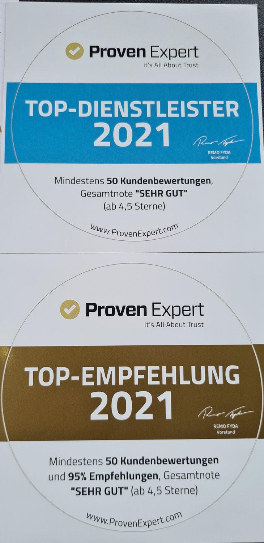 ProvenExpert Auszeichnung