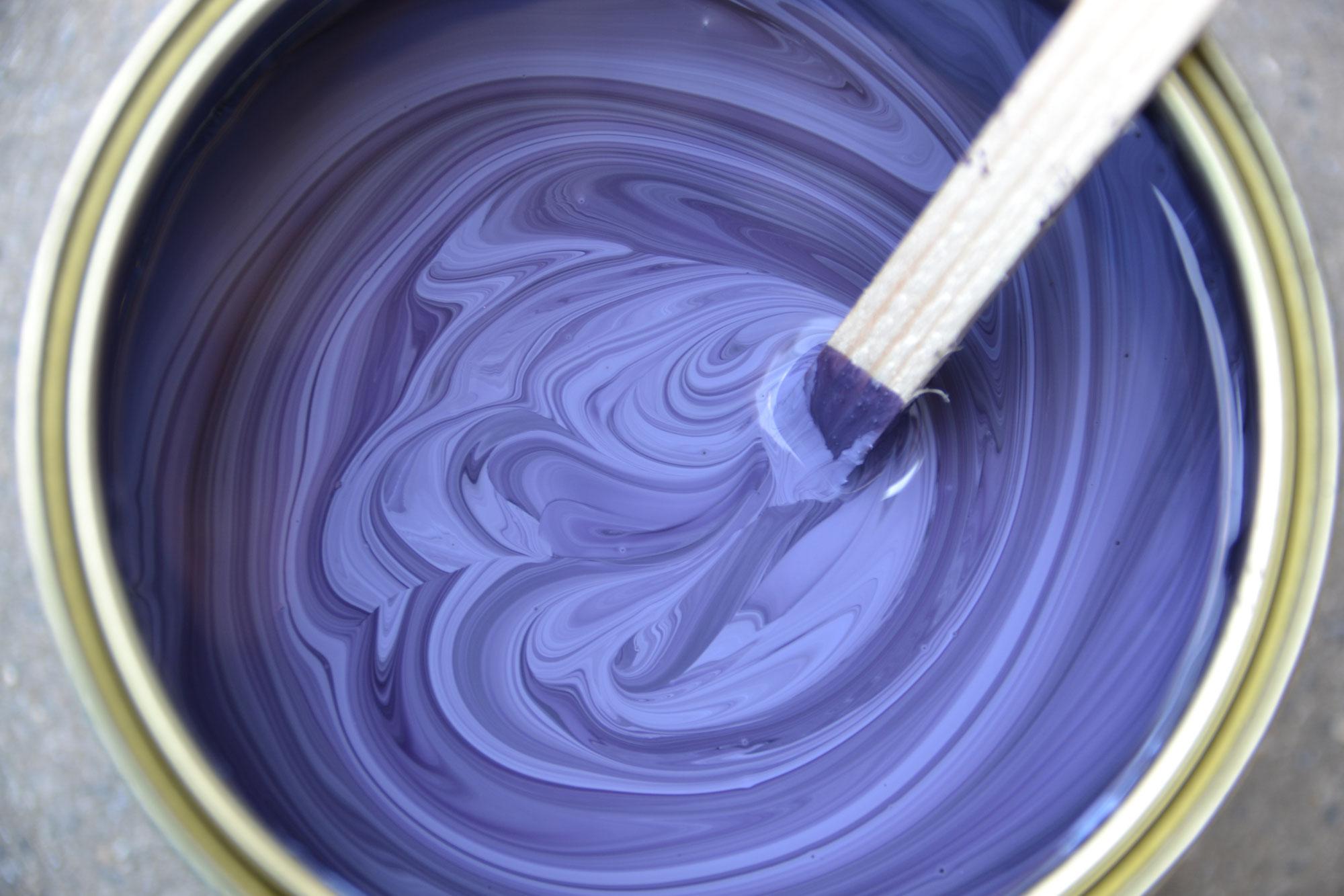 Lein lfarbe painting the past kreidefarbe und - Farbtafeln wandfarbe ...