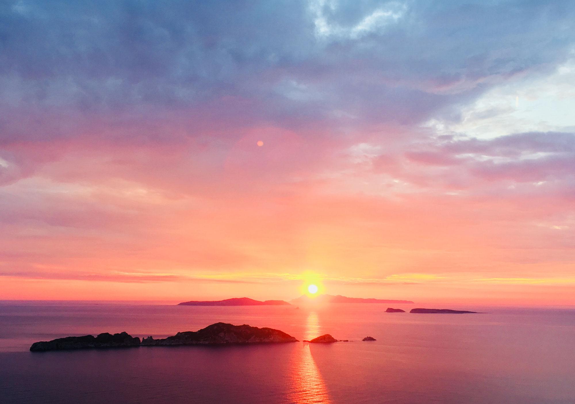 Wie uns Sonnenuntergänge an den Kreislauf des Lebens erinnern...