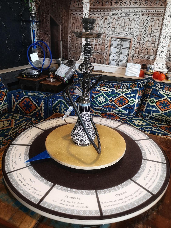 Abdampfen - eine Shisha-Lounge für den Tabak-Parcours