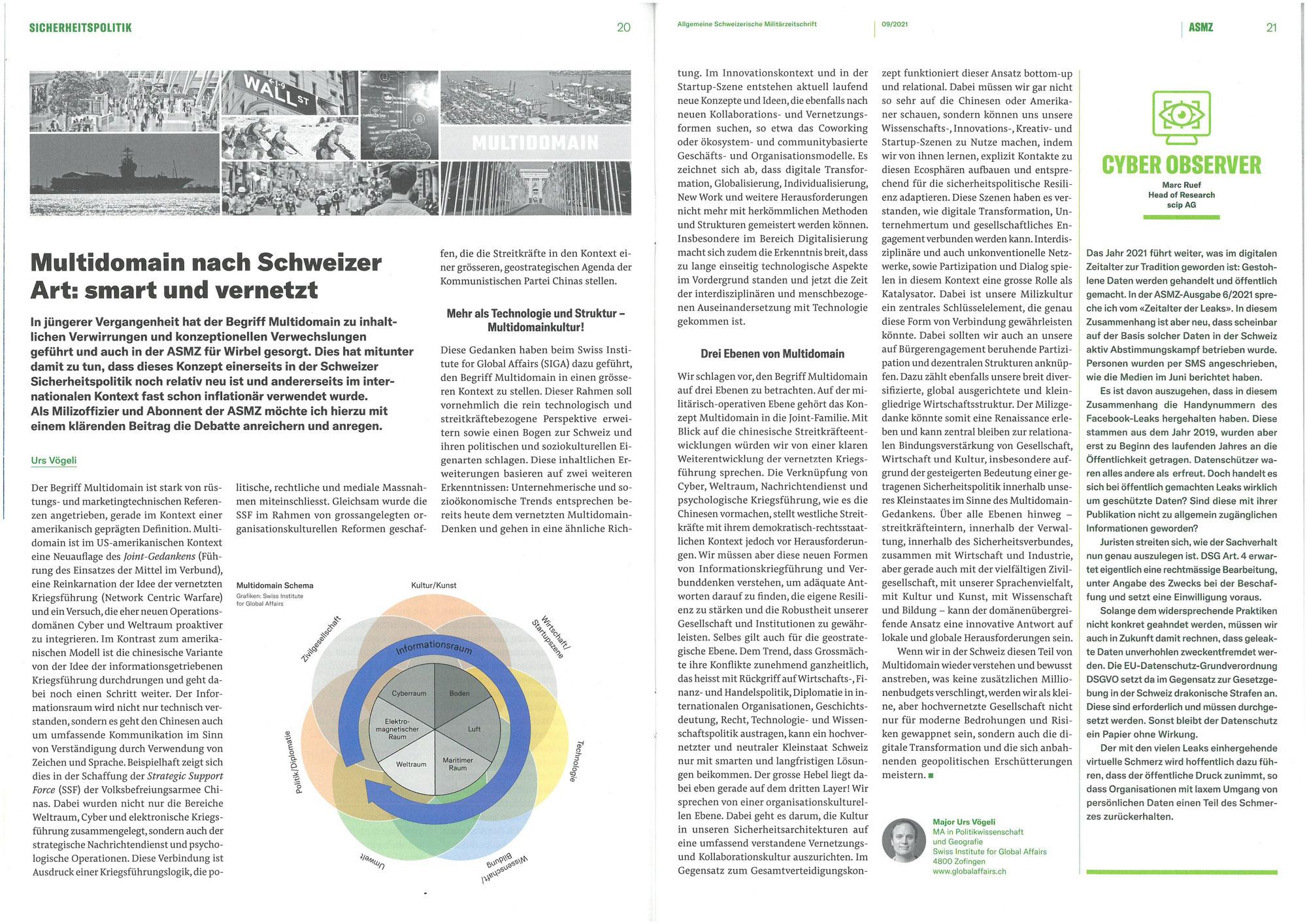 Multidomain nach Schweizer Art: smart und vernetzt