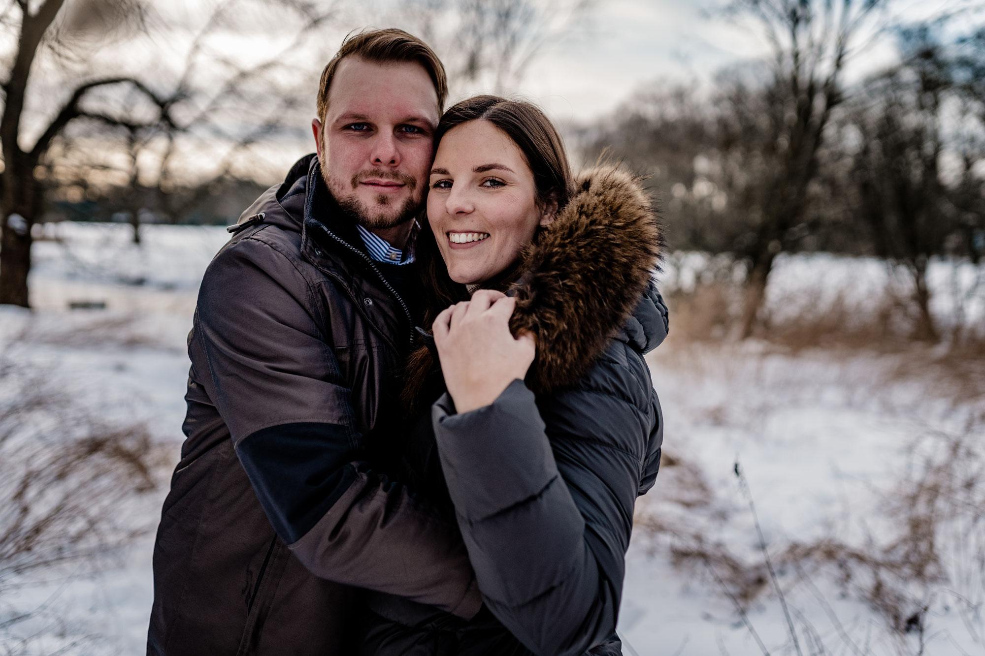 Schneeshooting mit Melissa & Magnus