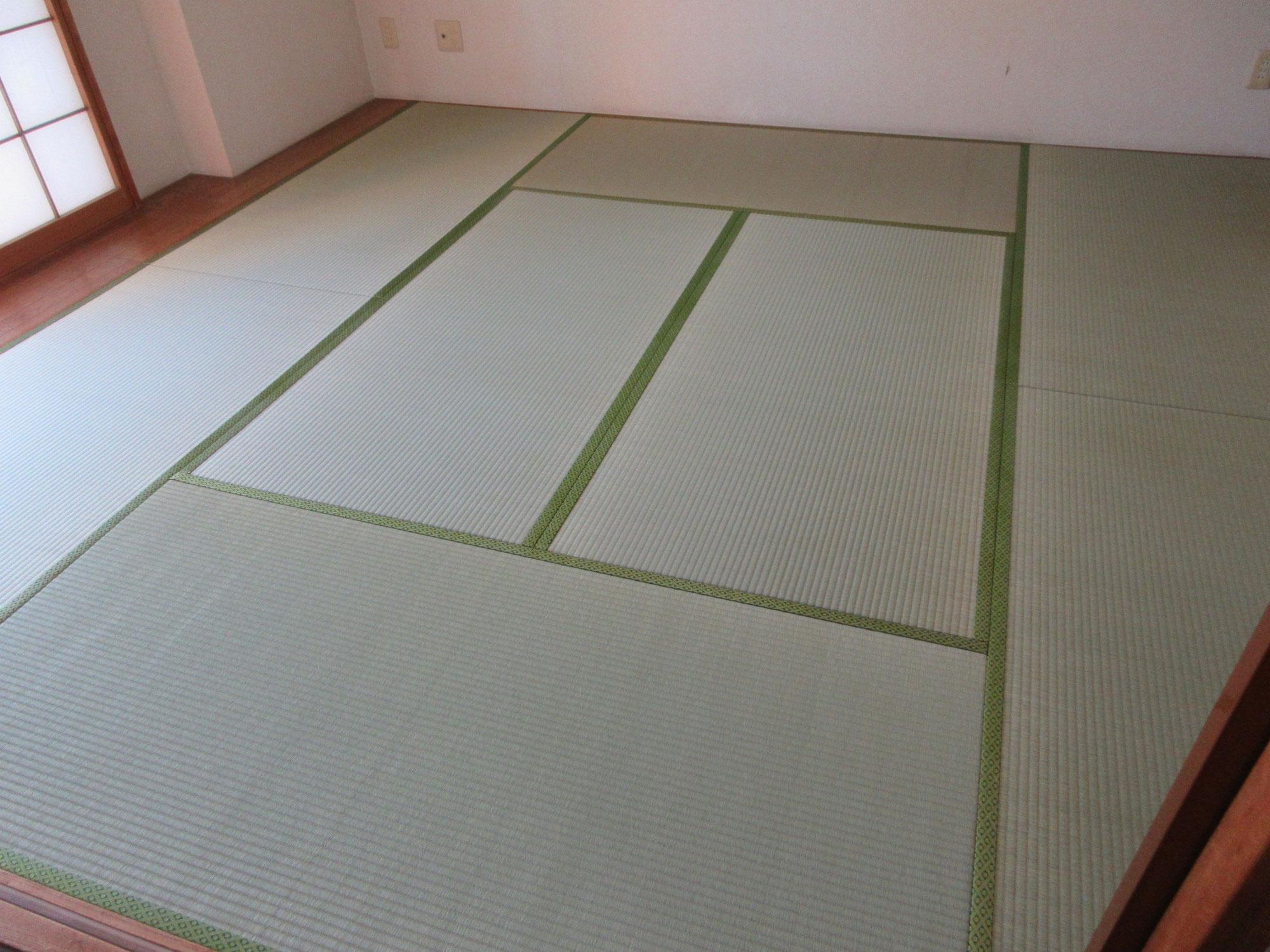 八王子市U様 畳と襖をきれいにしてご家族もお喜びになりました