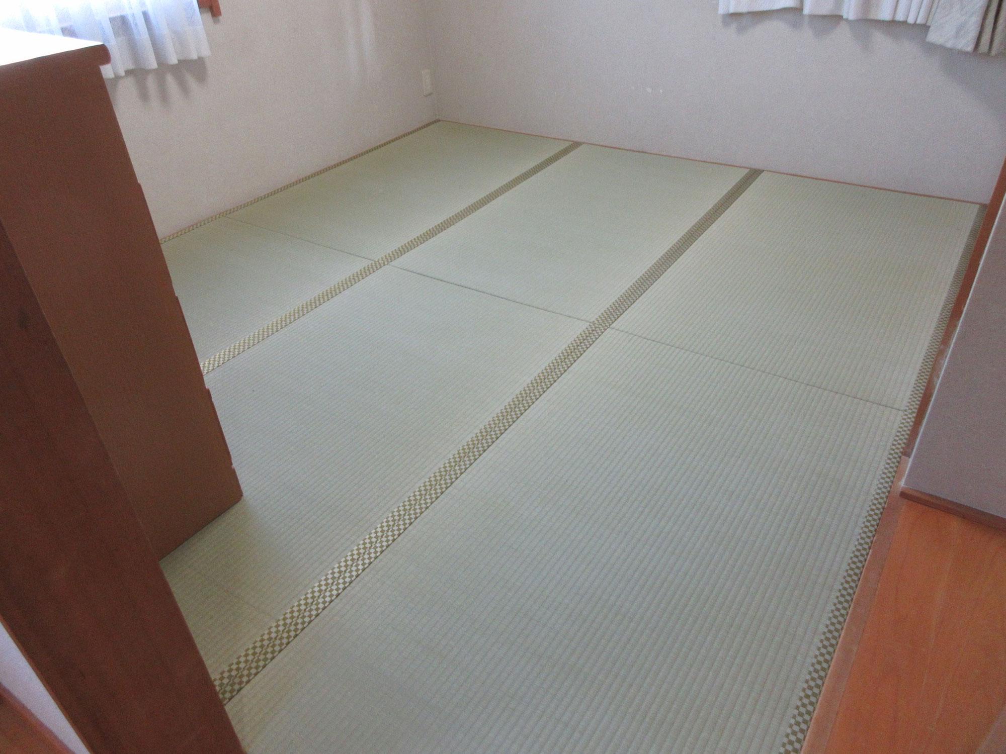 八王子市S様 畳と襖の施工例写真