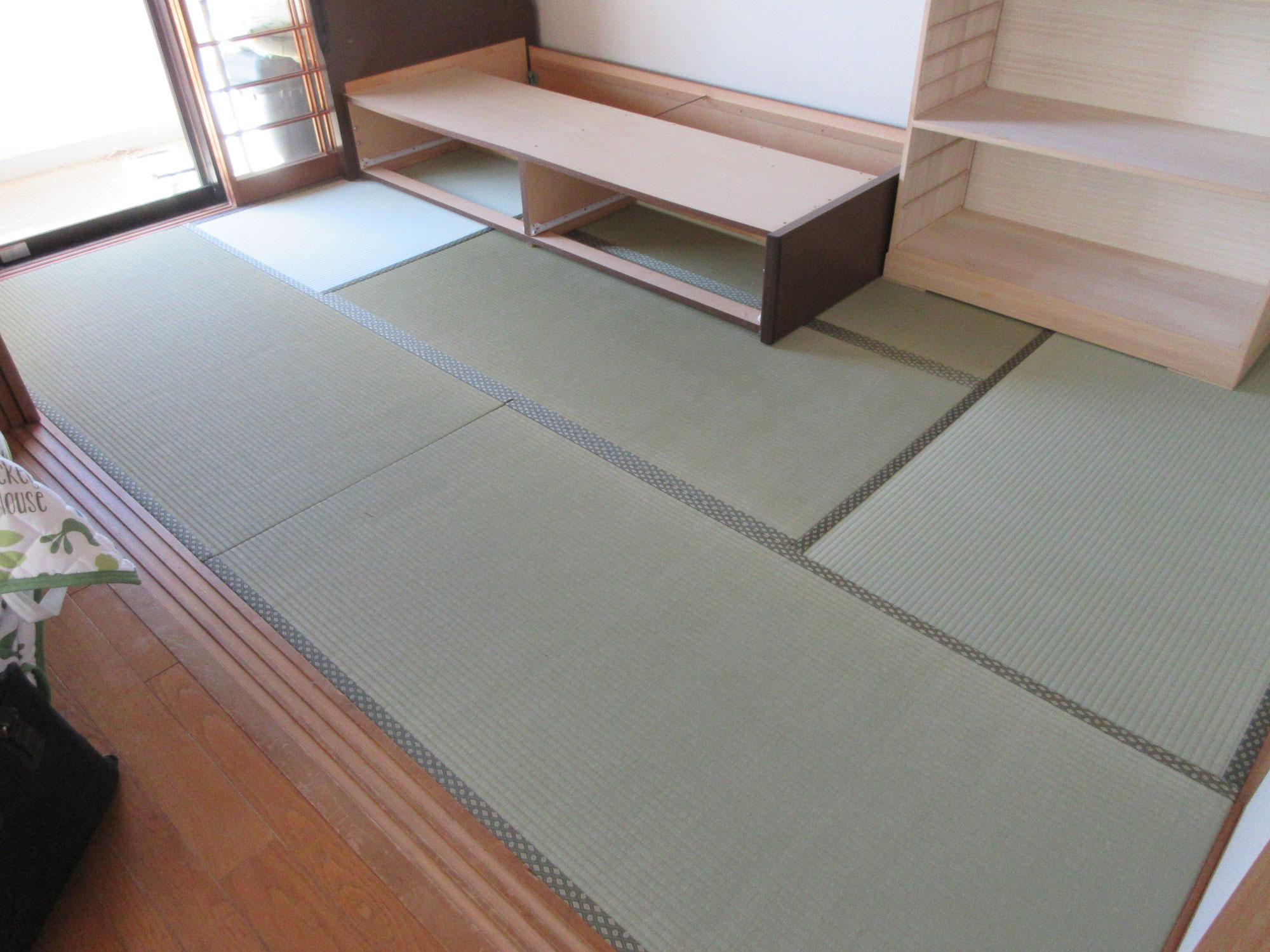 府中市H様新畳の施工写真