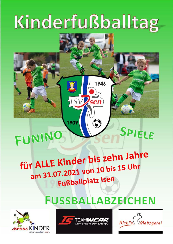 Fußball Kindertag