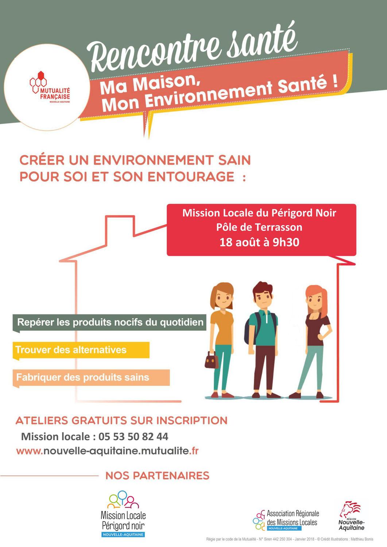 Atelier Santé Environnementale