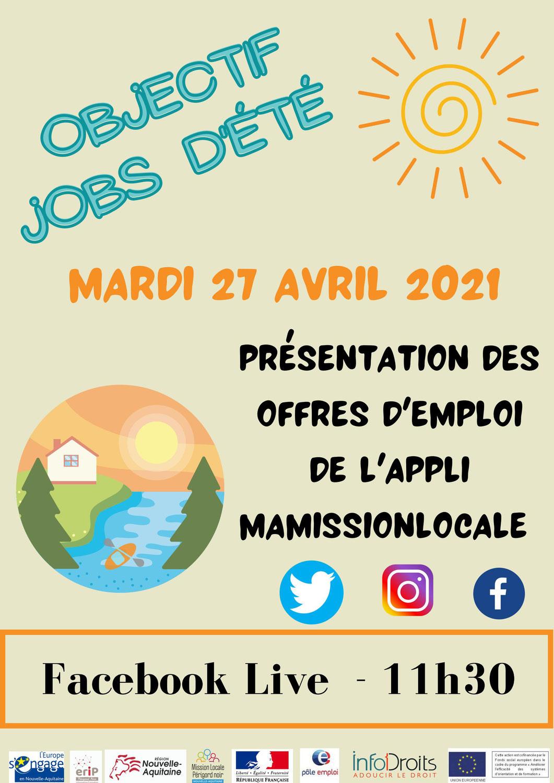 JOBS D'ETE - visio Consulter les Offres