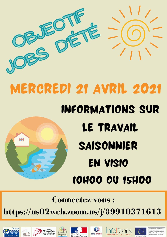 JOBS D'ETE - visio Info Droits