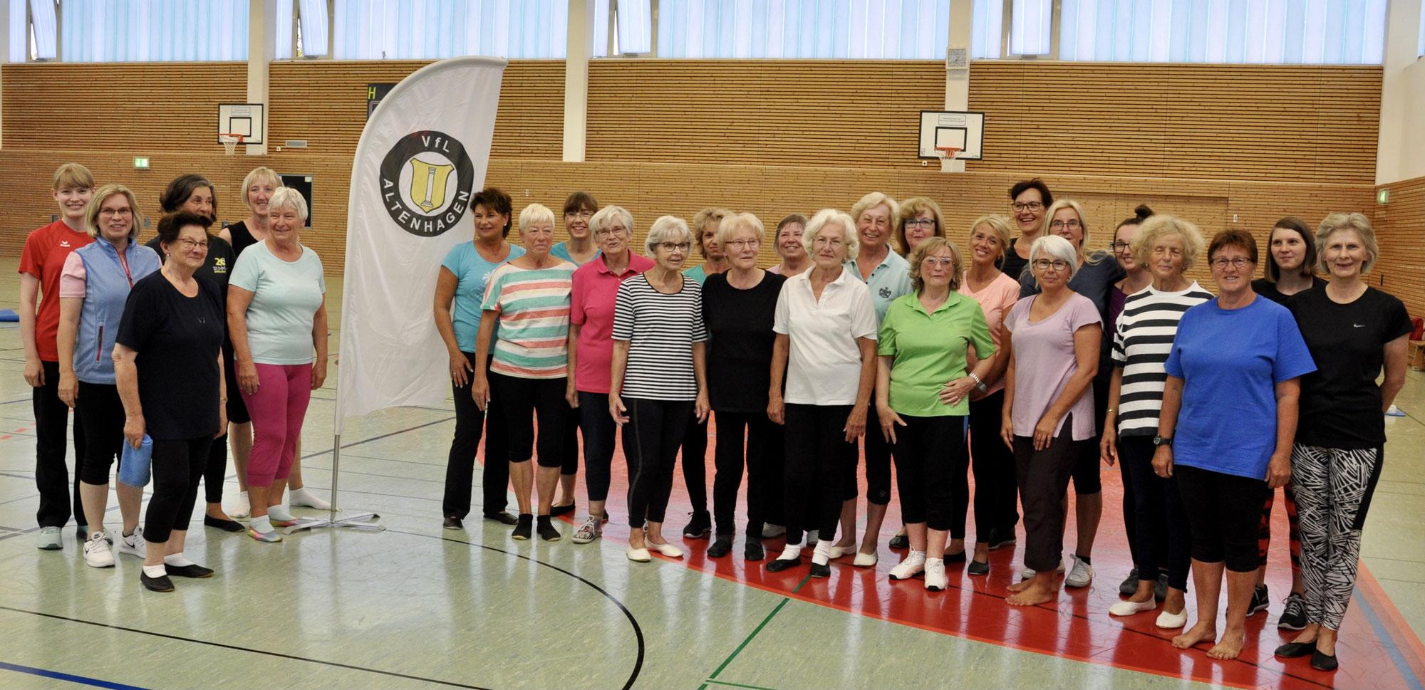 50 Jahre Damengymnastik / Fitness für Frauen