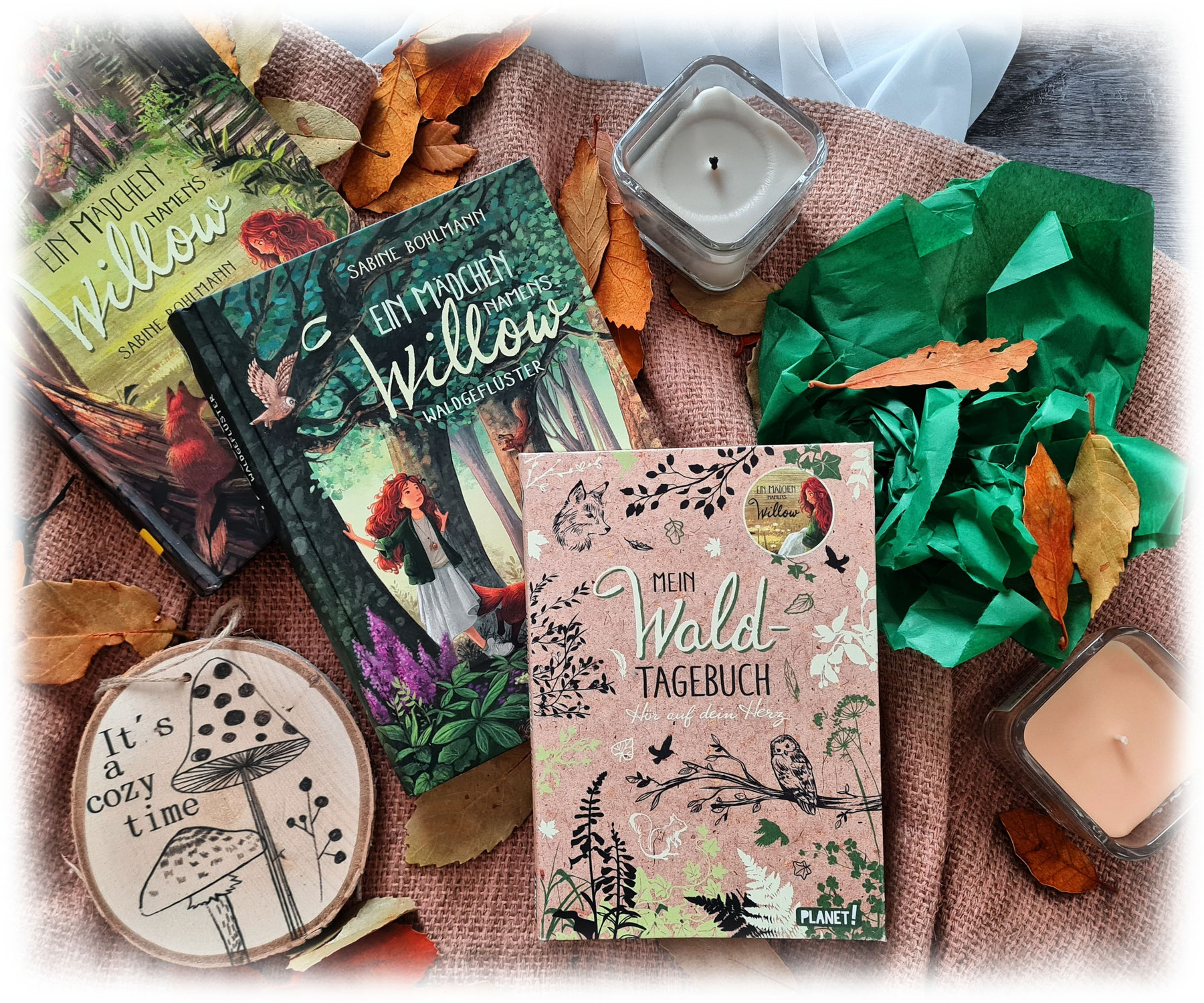 """""""Ein Mädchen namens Willow: Waldgeflüster"""" von Sabine Bohlmann"""