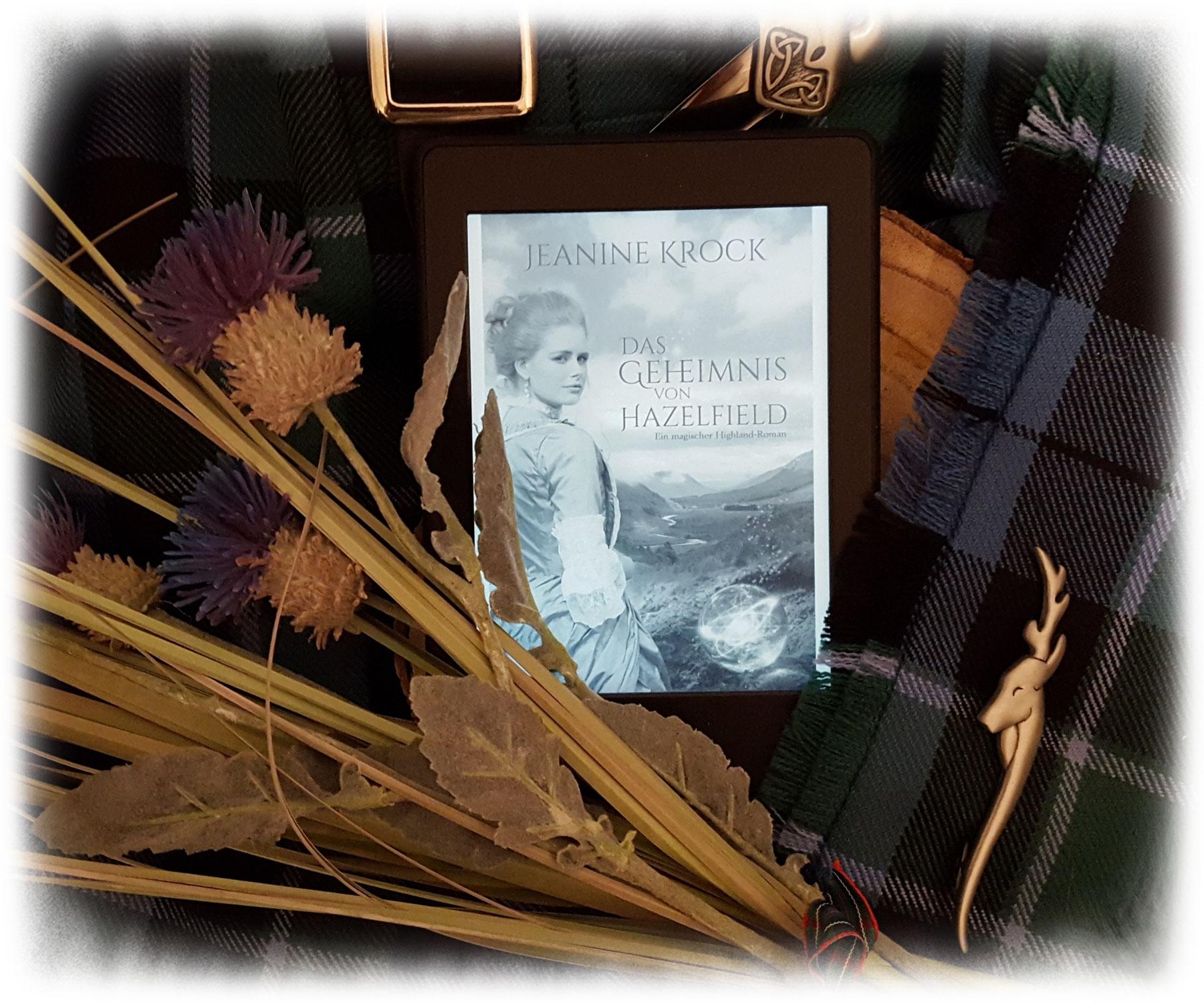 """""""Das Geheimnis von Hazelfield"""" von Jeanine Krock"""