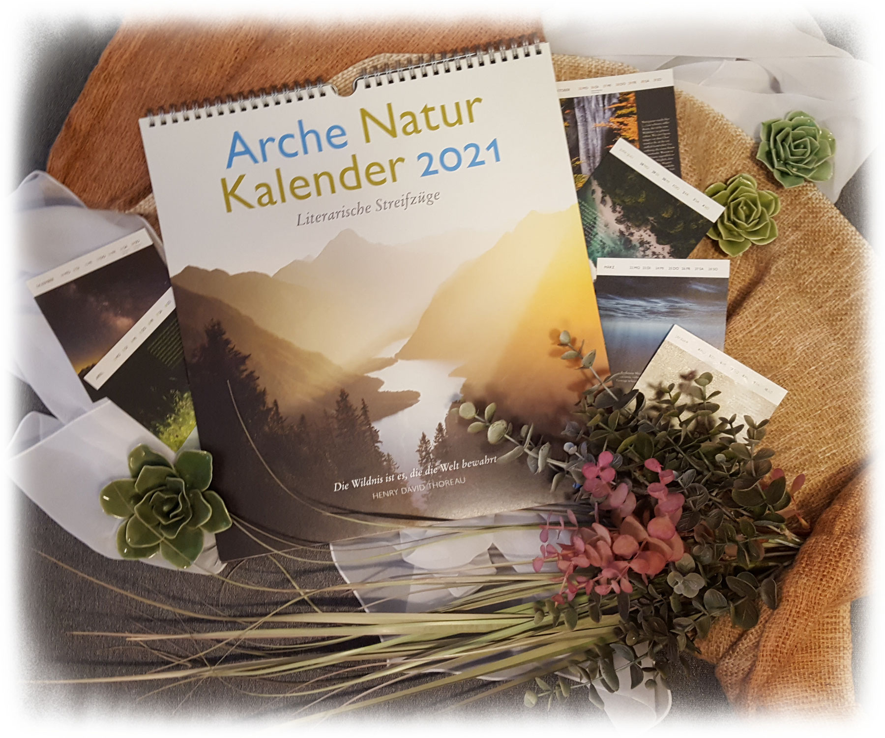 """""""Arche Natur Kalender 2021"""" von Anneke Lubkowitz"""
