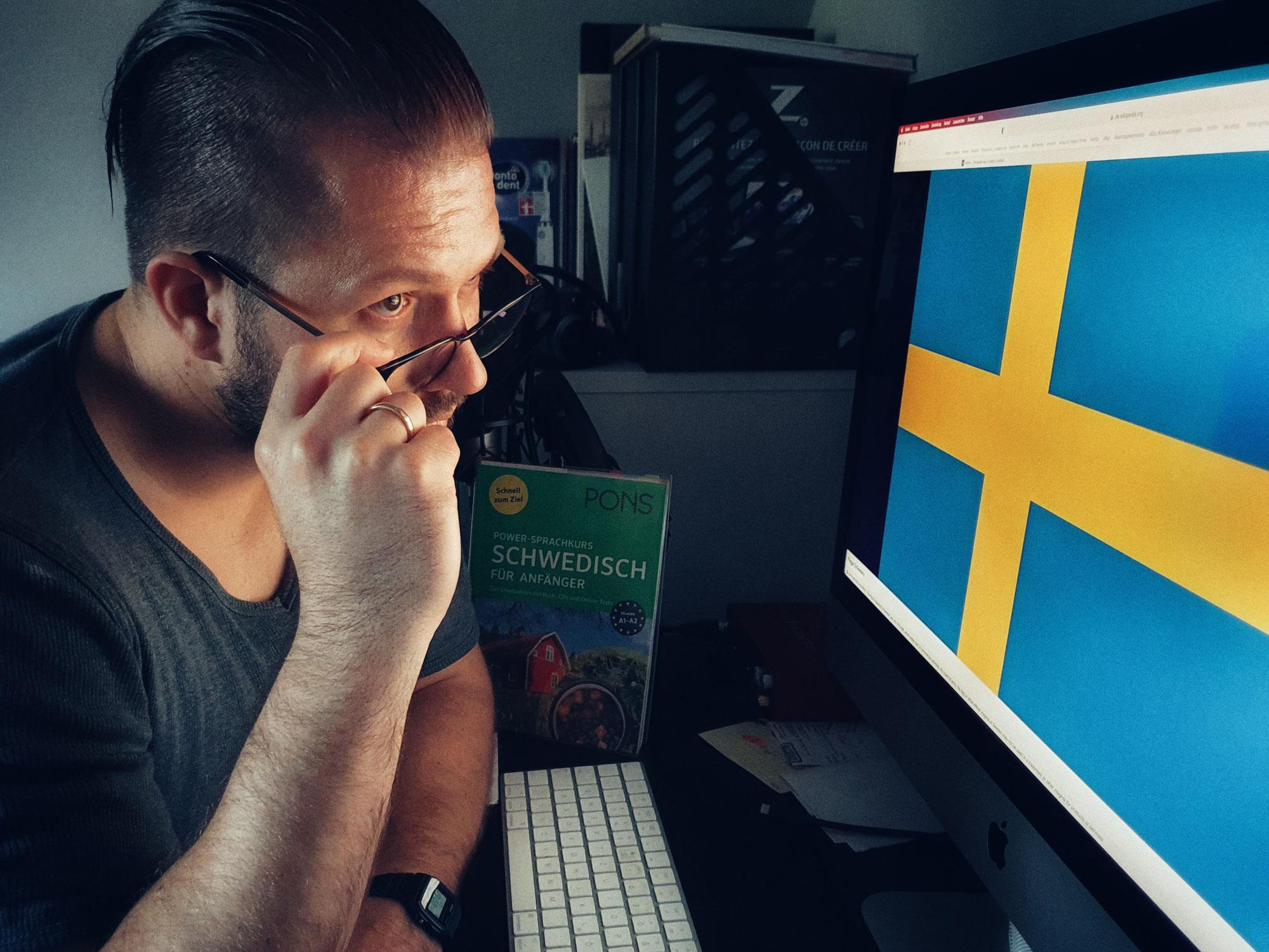 Podcast Folge 44 Schweden und so - Vorfreude ist die schönste Freude!
