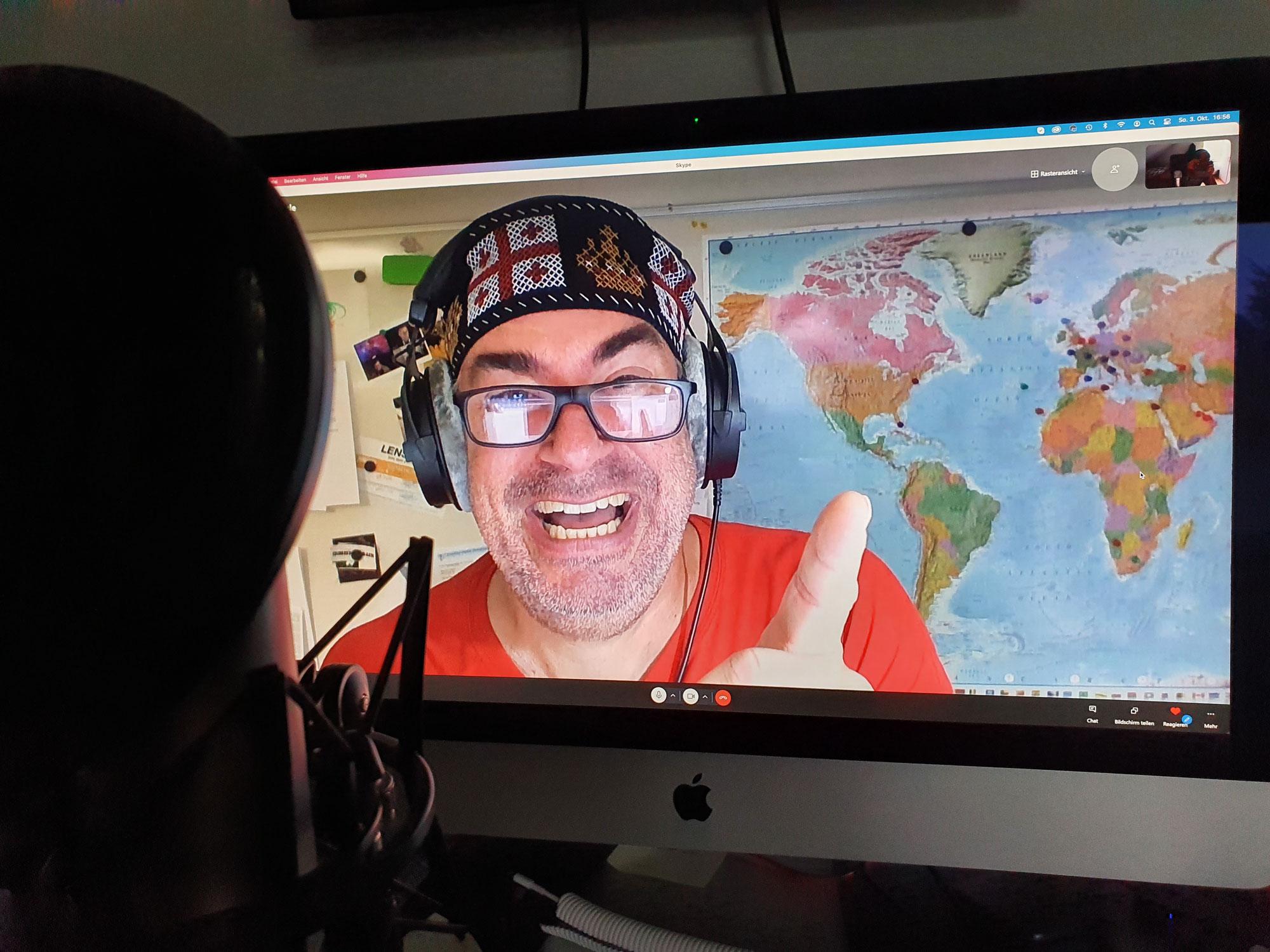 Podcast Folge 47 Plauderecke - In Georgien gibt's keine Photopia! - Interview mit Frank Fischer die Zweite