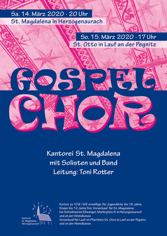 Gospelwochenende 14. & 15. März