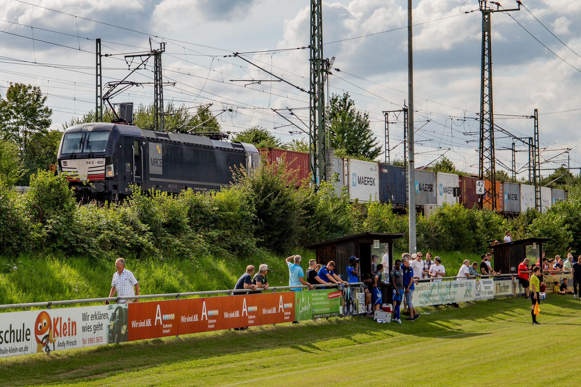 Groundhopping: ESV Ansbach/Eyb vs. SC Aufkirchen