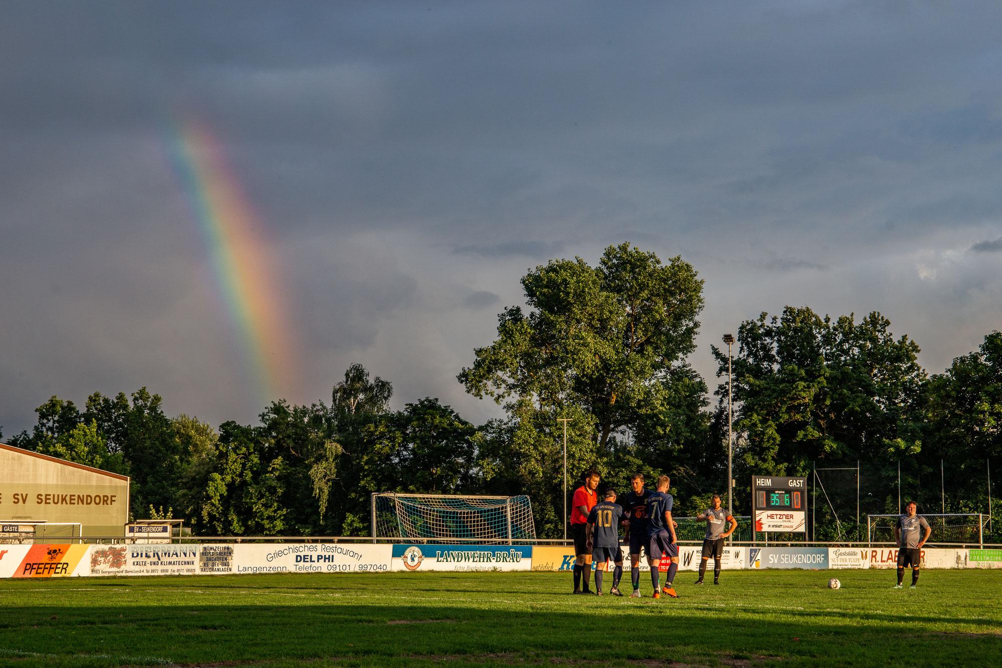 Groundhopping: SV Seukendorf II vs. TSV Wachendorf II