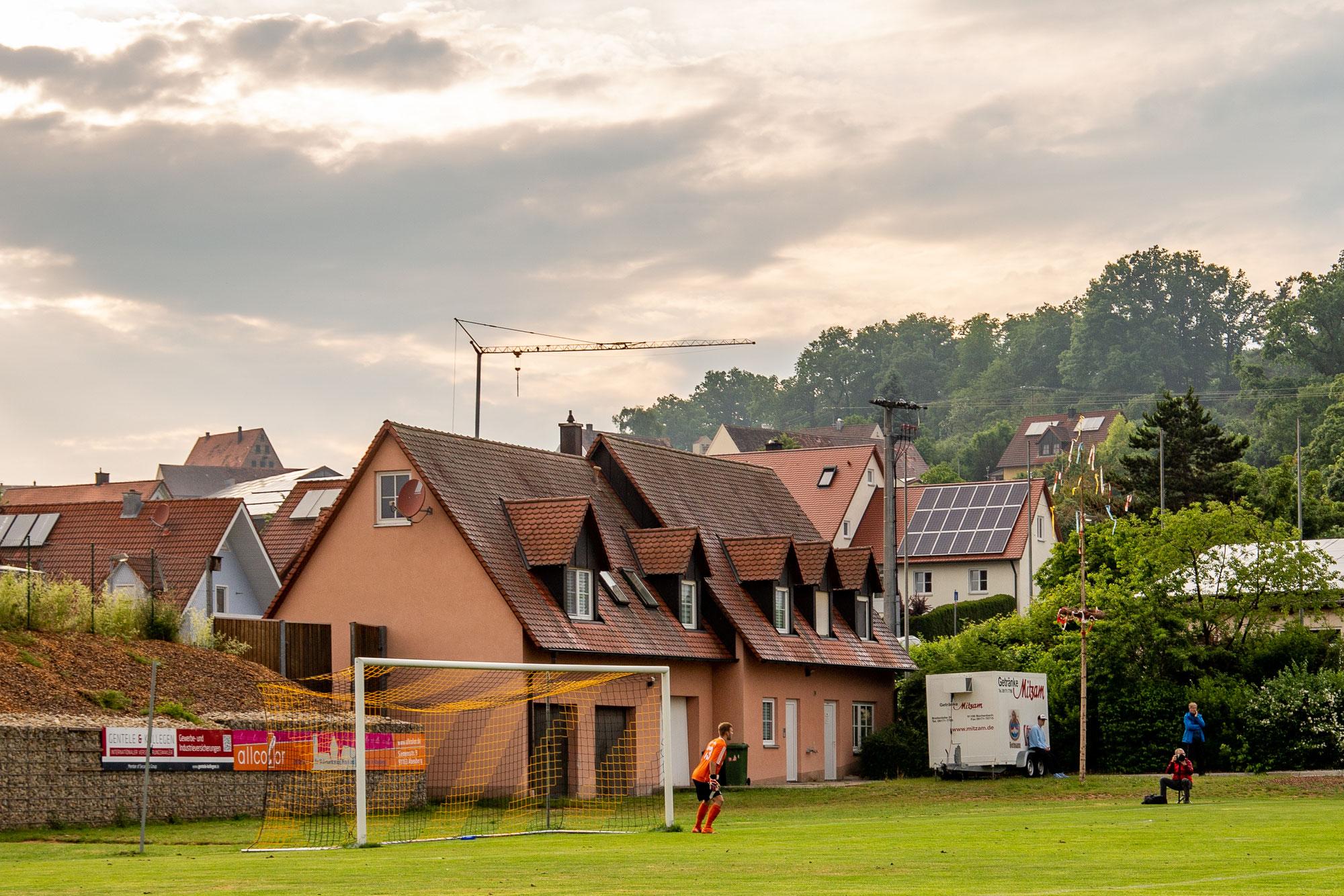 Groundhopping: SpVgg. Ansbach 09 vs. SC 04 Schwabach