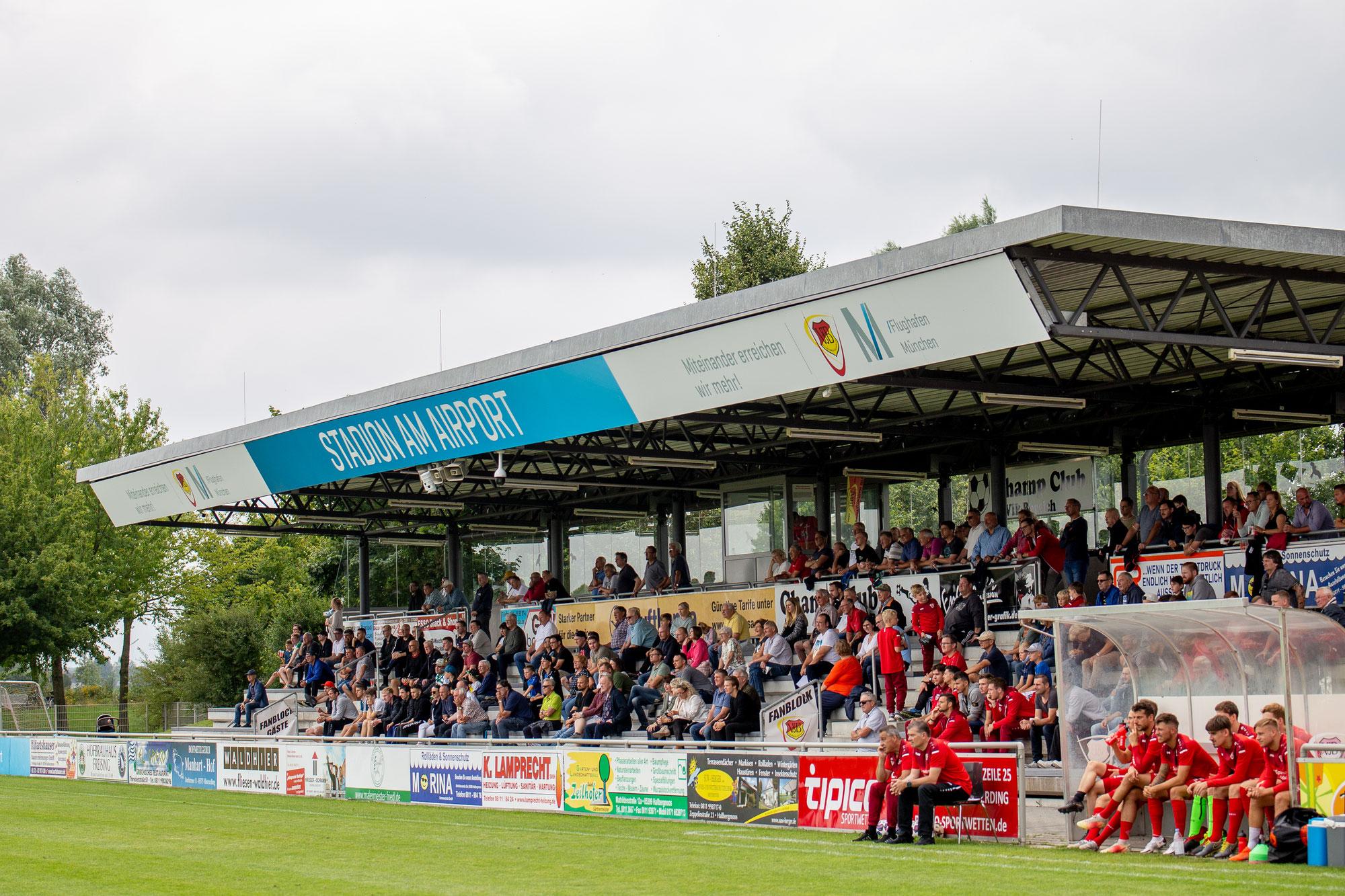 Groundhopping: VfB Hallbergmoos-Goldach vs. FC Ismaning