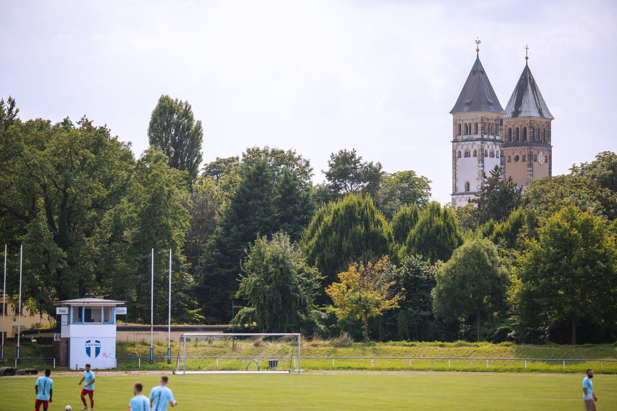 Groundhopping: FC Blau-Weiß Leipzig vs. SV Dessau