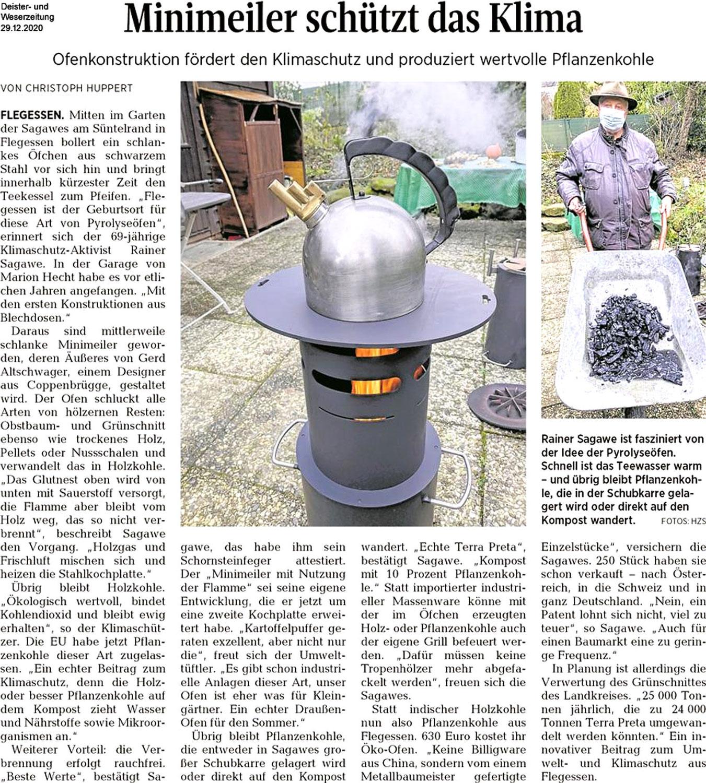 Presse stellt neuesten Chantico vor:                               Kochen mit zwei Töpfen möglich